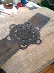 Work in Progress: Mandala copper cuff