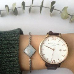 CKJ Twilight Moonstone Bracelet and watch